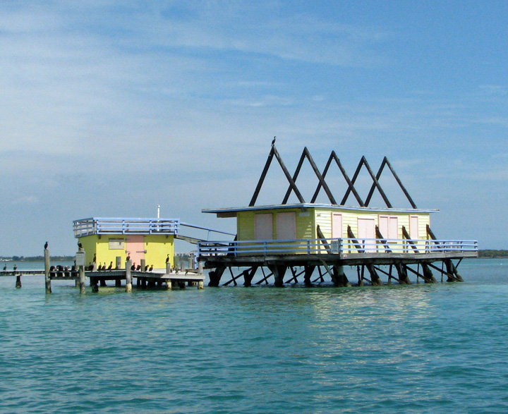 florida houses on the water. stiltsville on biscayne bay florida houses the water r